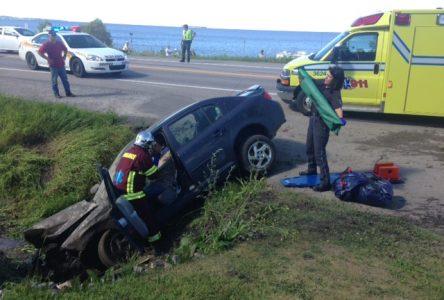 Deuxième accident grave en trois semaines à la sortie de Roberval