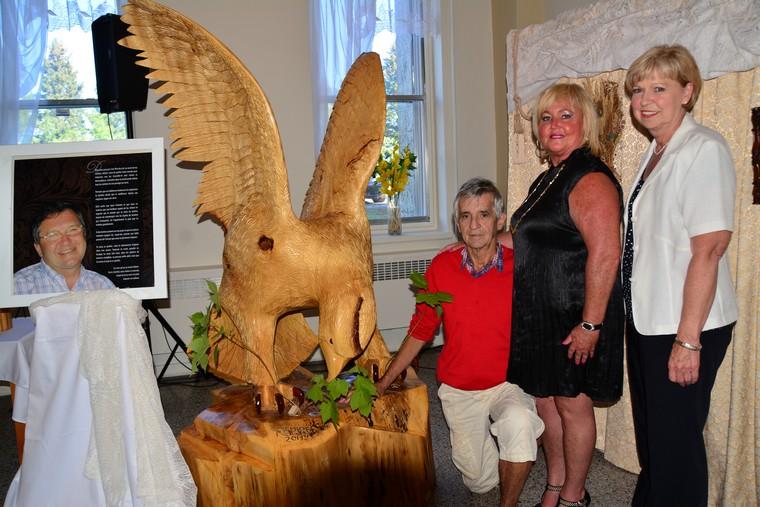 Juvénat de Desbiens: un aigle géant inspirera les jeunes