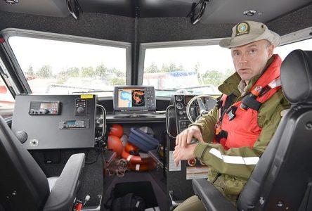 La SQ prend possession d'un nouvel équipement pour intervenir sur le lac St-Jean