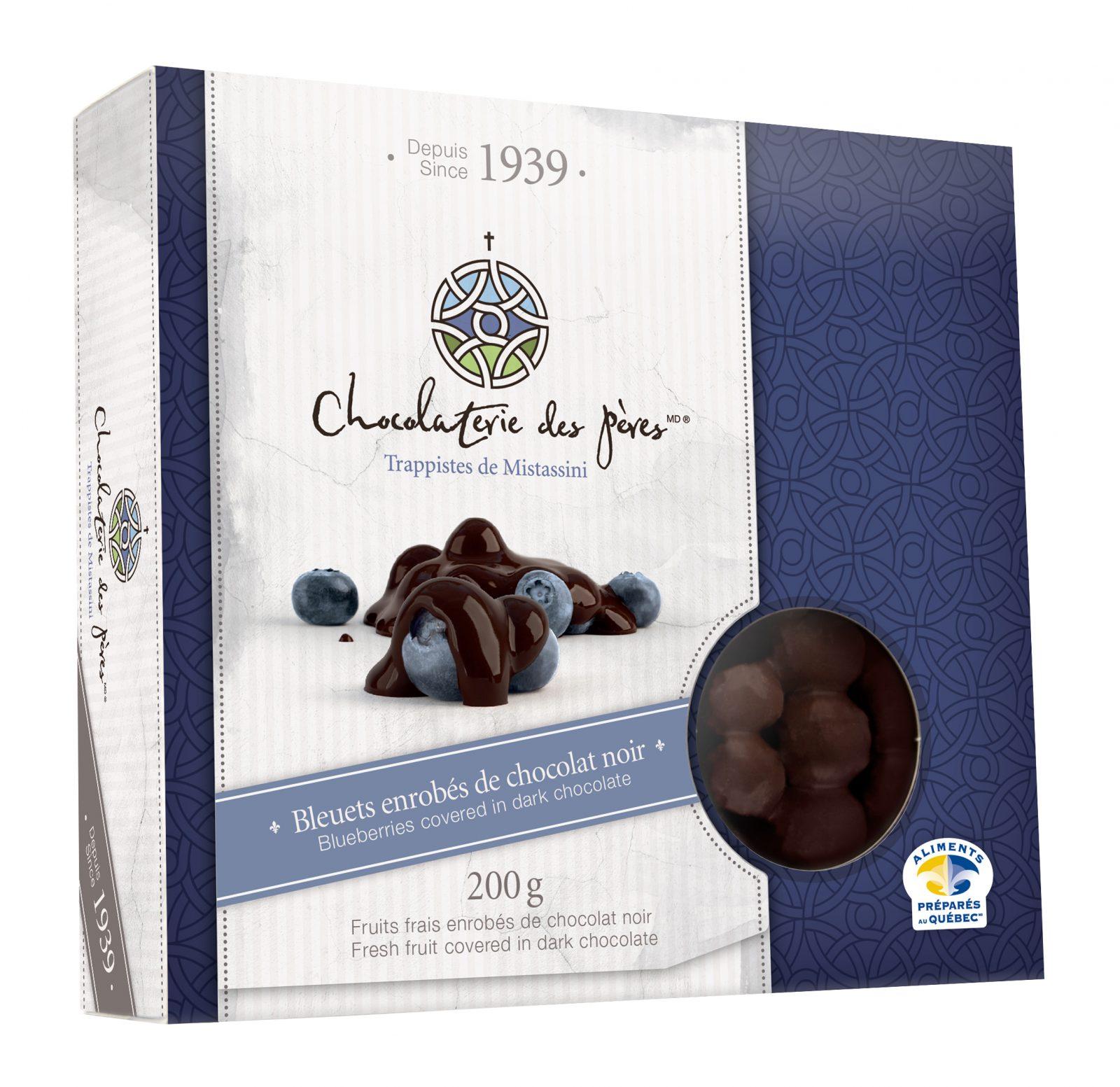 Approvisionnement en bleuets frais difficile à la Chocolaterie des Pères Trappistes