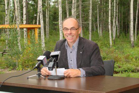 Denis Trottier veut poursuivre son travail de promotion de la ressource bois