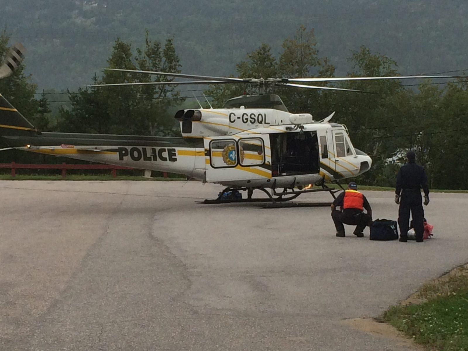 Recherches pour retrouver deux personnes disparues au lac Cramahe