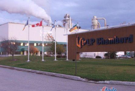 Usine LP Chambord : La garantie d'approvisionnement résiliée