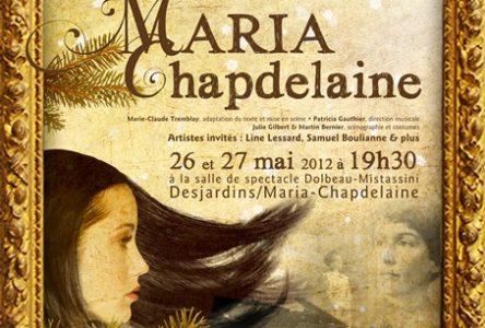 Maria Chapdelaine présenté en comédie musicale les 26 et 27 mai