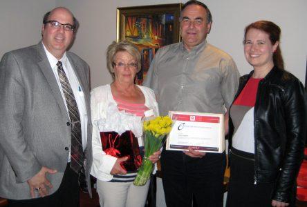 Daniel Laplante reçoit le Prix de distinction de Centraide Canada