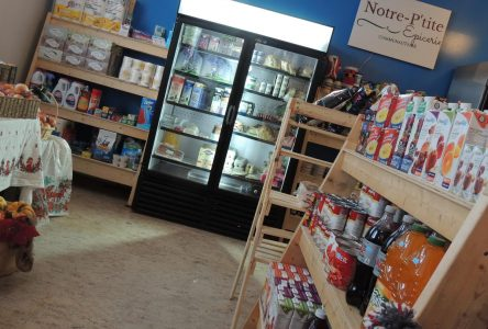 Notre P'tit Épicerie communautaire accessible à Notre-Dame-de-Lorette