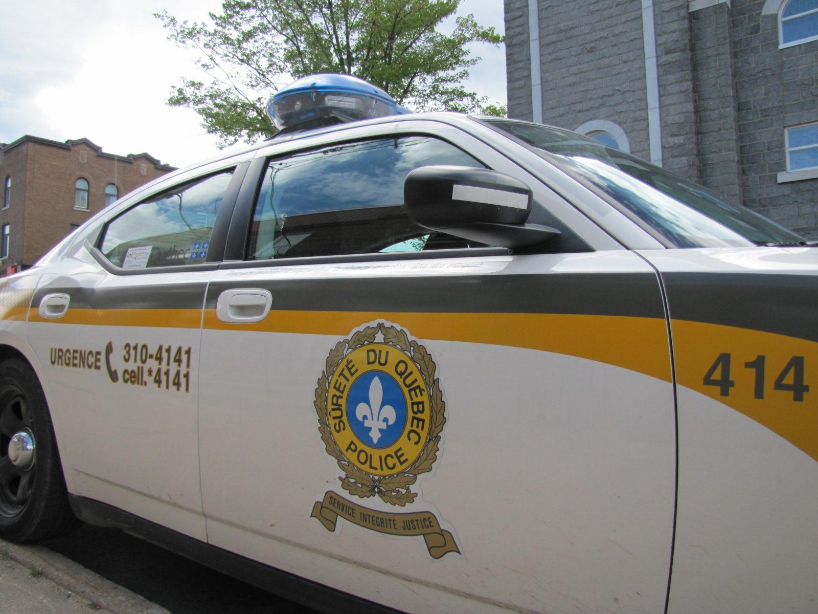 Arrêté à 160 km/h sur la route de Saint-Ludger-de-Milot