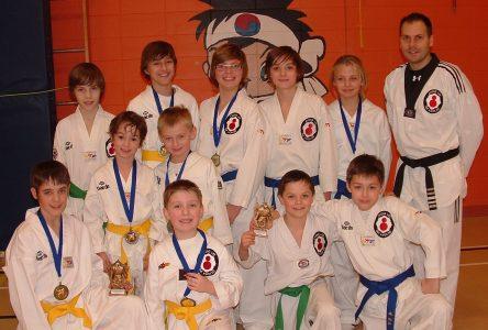 Une récolte de 12 médailles pour le Club de Dolbeau-Mistassini