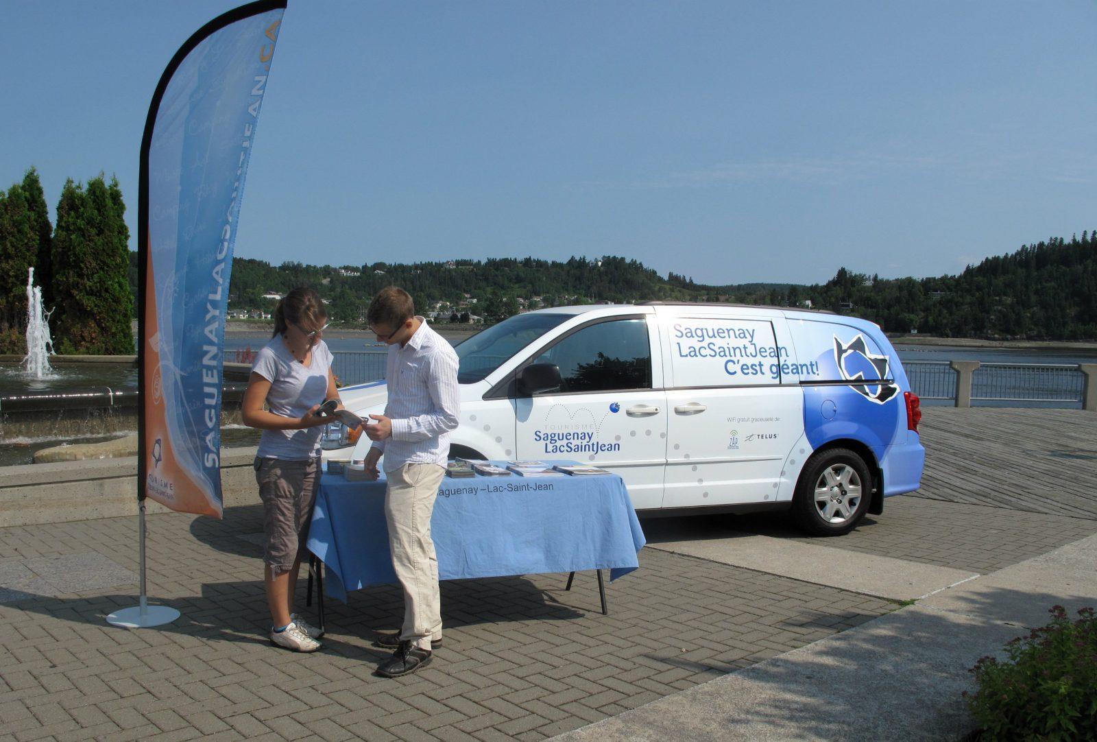 La brigade d'information touristique mobile de retour sur les routes