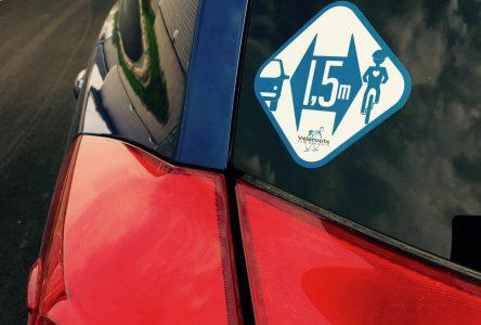 Un petit cadeau pour le 15e anniversaire de la Véloroute des Bleuets
