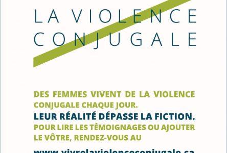 Lancement du site internet Vivre la violence conjugale
