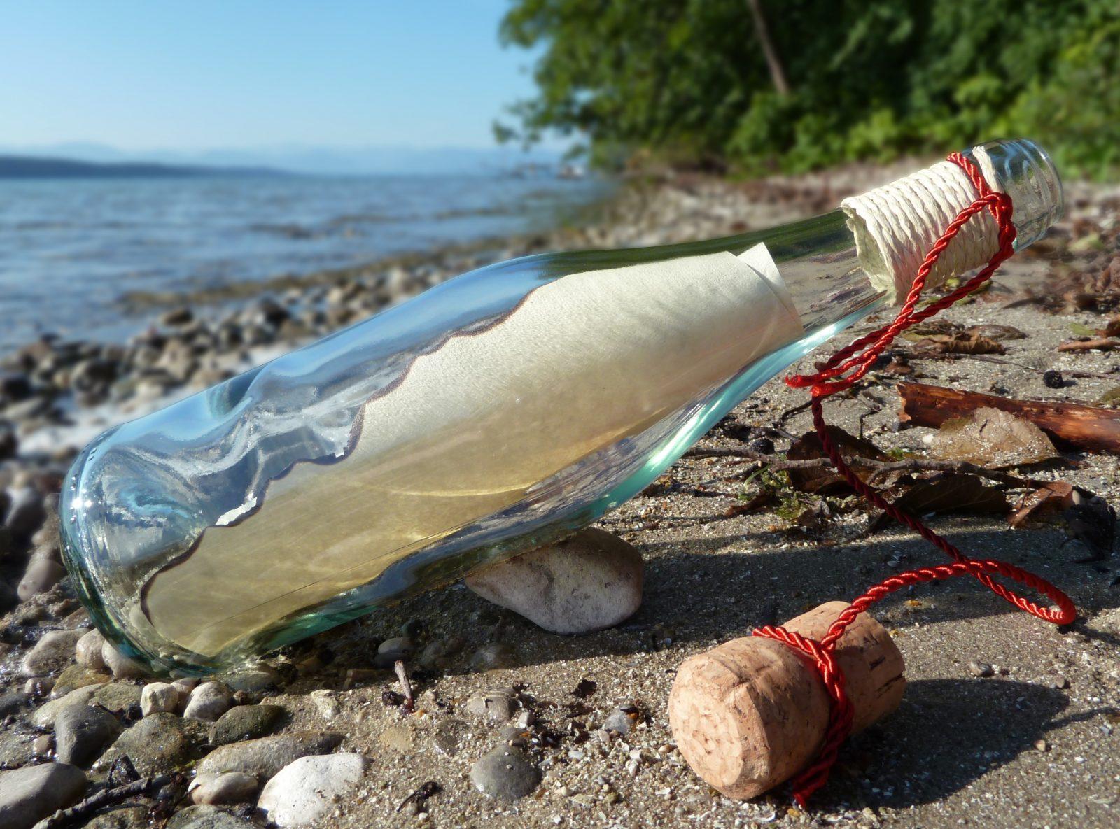 Expertise du message dans la bouteille de la rivière Péribonka :  Les résultats!