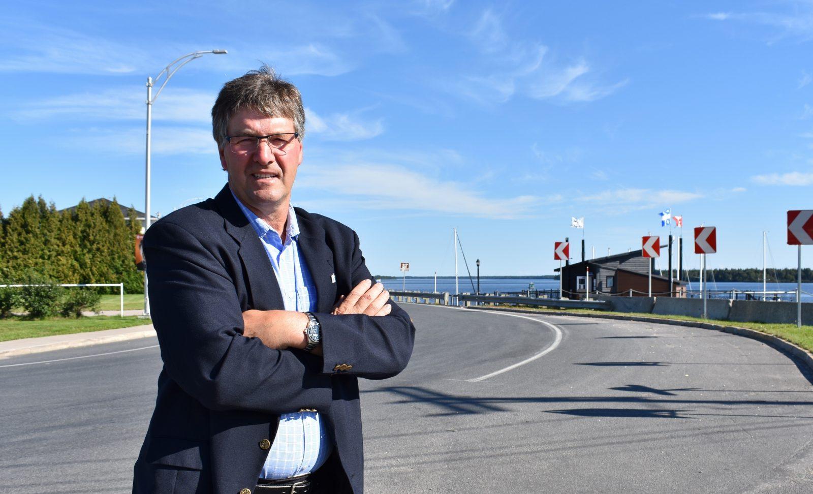 Courbe dangereuse à Péribonka : le dossier a assez traîné, déplore le maire