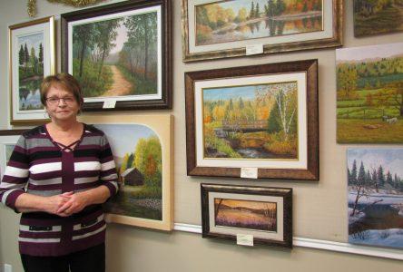 La peintre Jocelyne rousseau ouvre les portes de son atelier