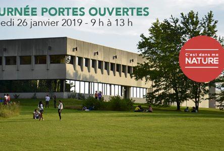 Cégep de St-Félicien : JOURNÉE PORTES OUVERTES – Samedi 26 janvier 2019 – 9 h à 13 h