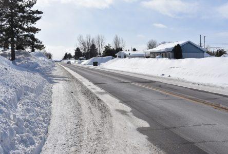 Dolbeau-Mistassini veut réduire la vitesse sur le Plateau St-Louis