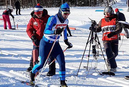 Coupe Québec de ski de fond : Jérémie Trottier apprécie l'expérience