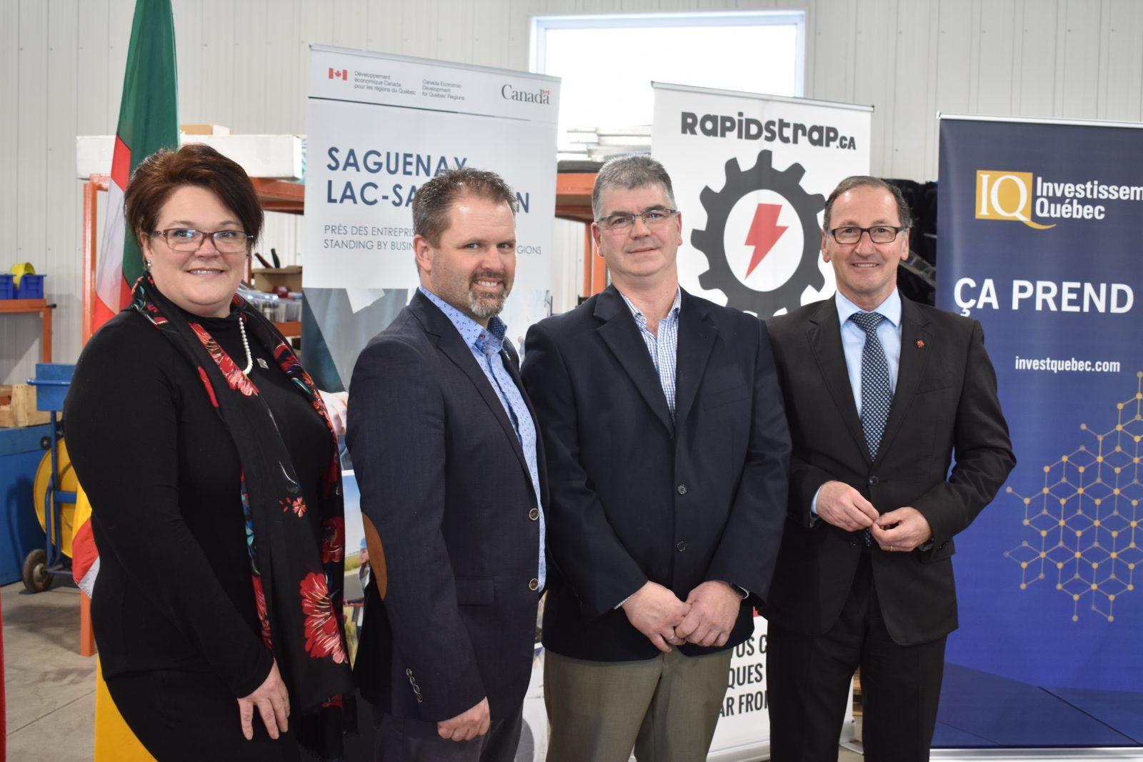 Québec et Ottawa octroient 358 000 $ à Usinage numérique HB