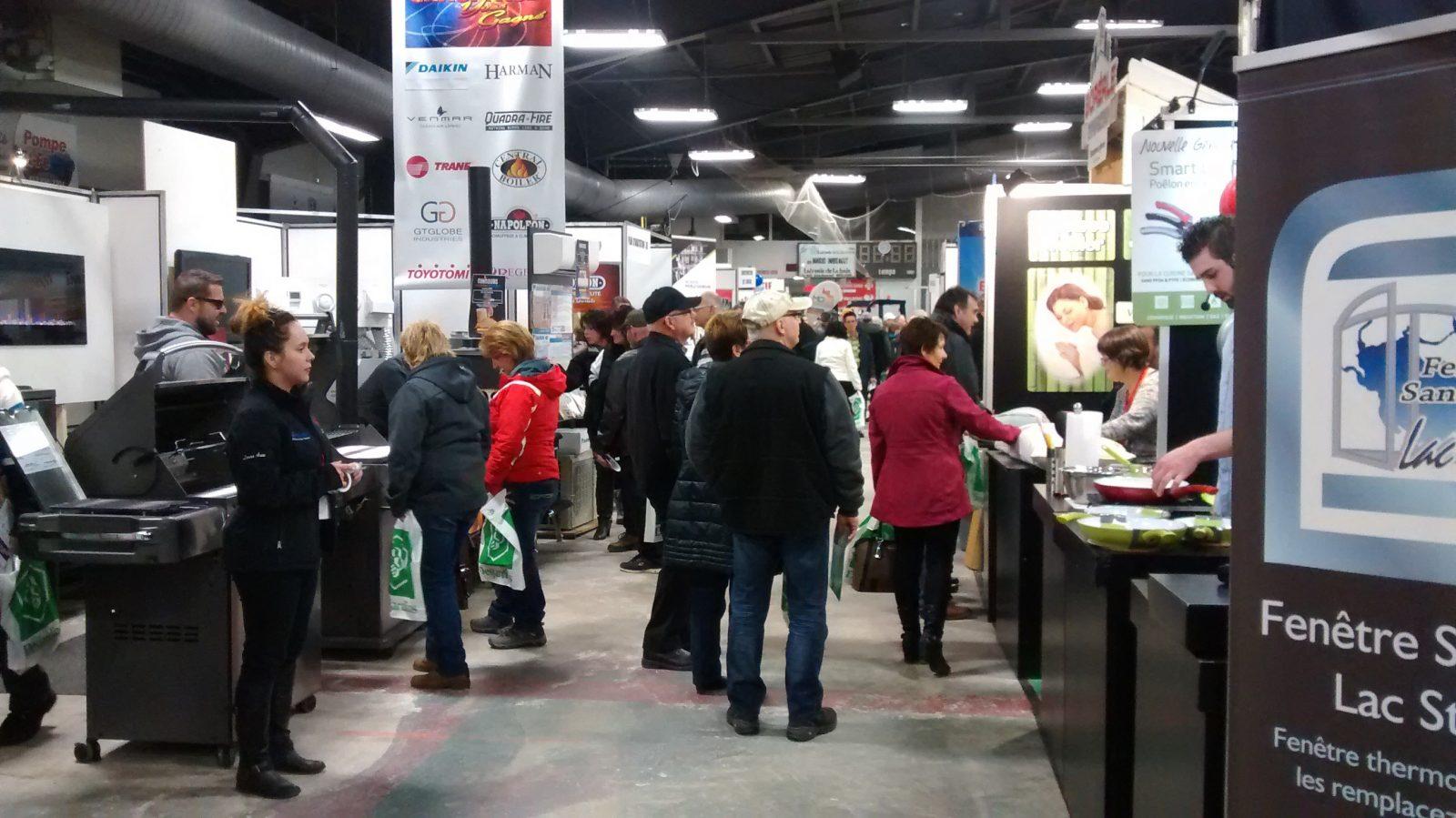 Salon Expo Habitat Lac-Saint-Jean : le savoir-faire de 50 exposants sous un même toit