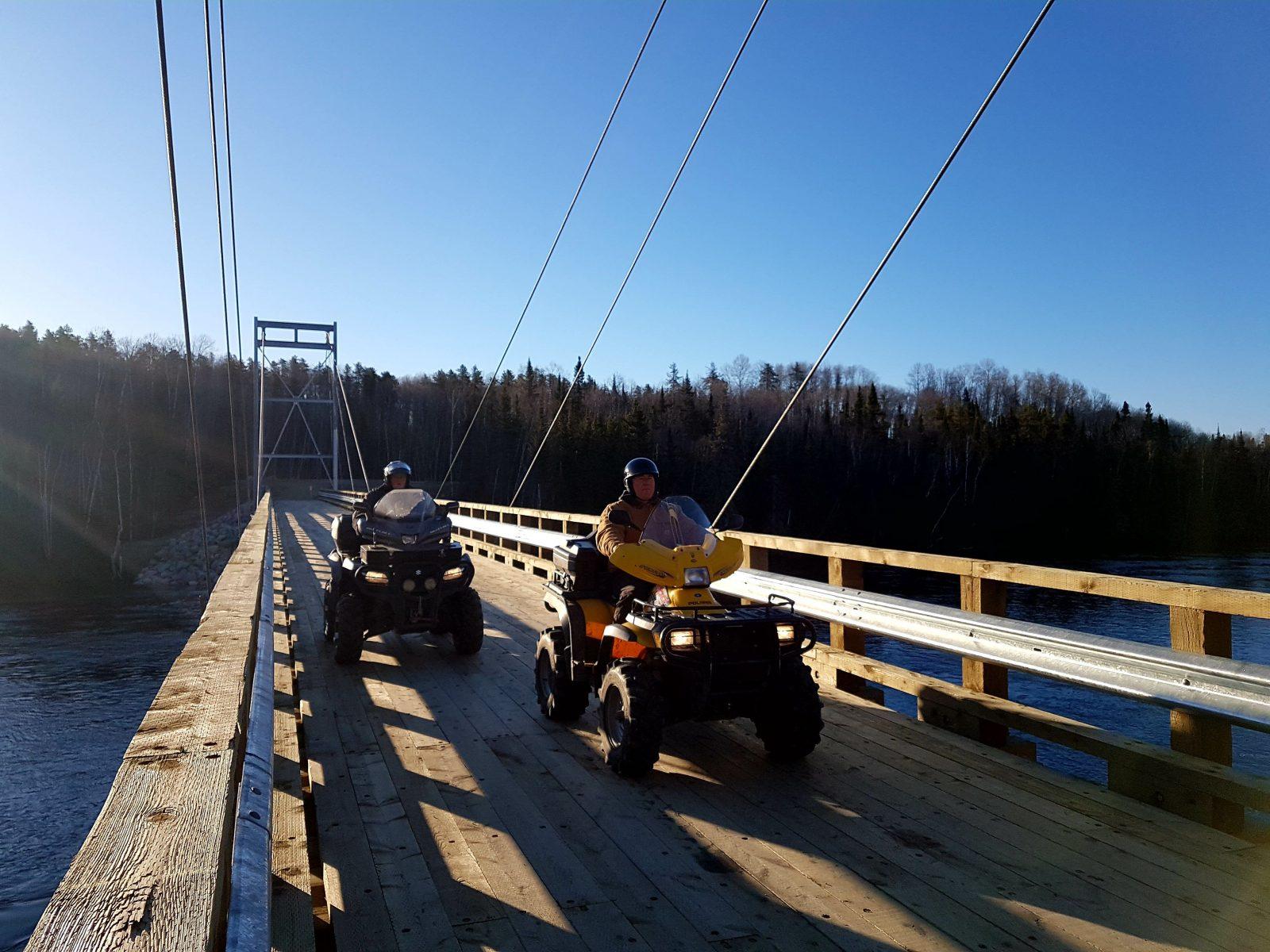 Passerelle du 49e : le sentier de quad sera fédéré dès cette année