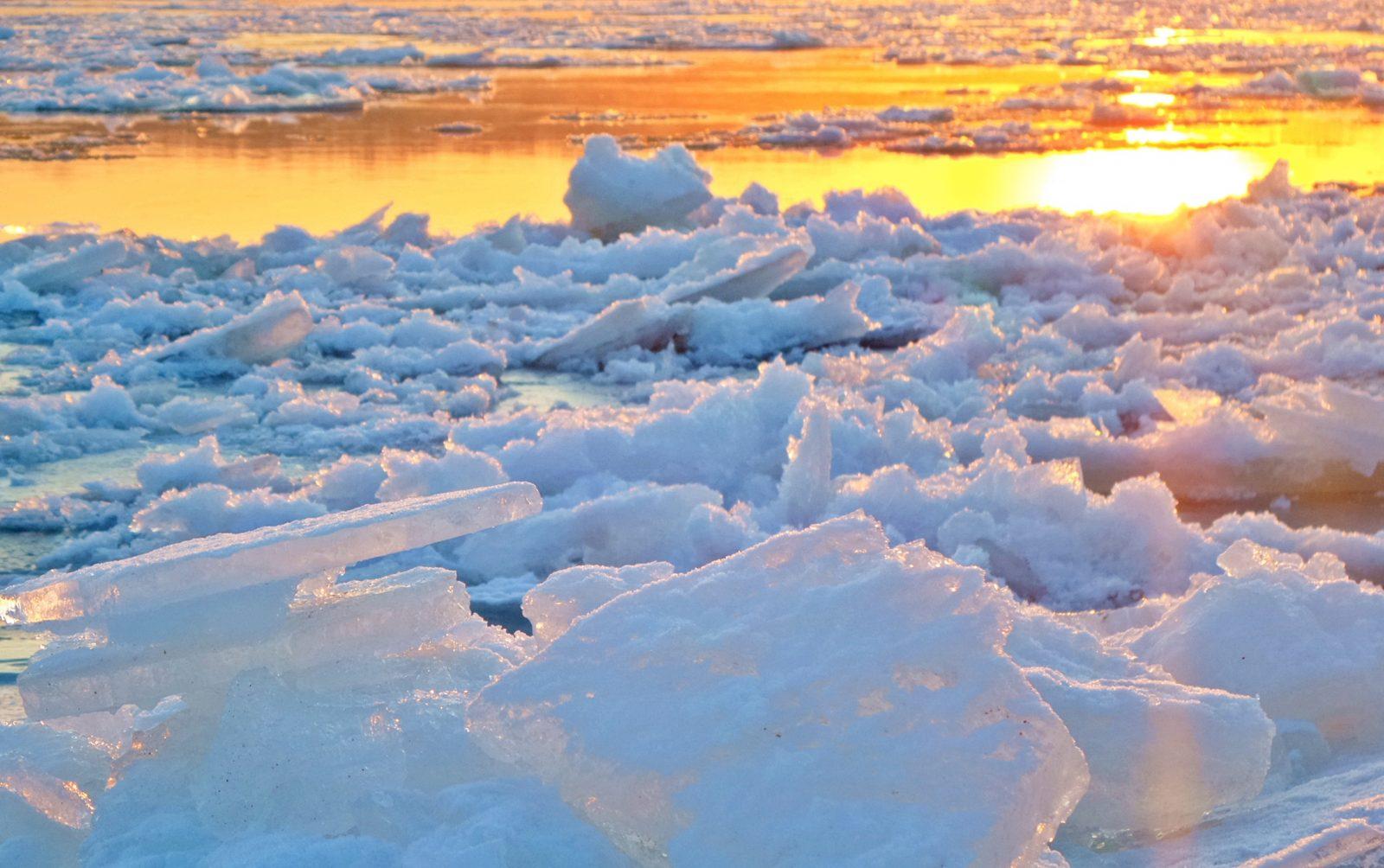 Le départ des glaces sera-t-il le 15mai à 14h30?