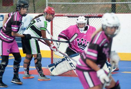 Dek Hockey Nord du Lac : fort intérêt pour le volet féminin