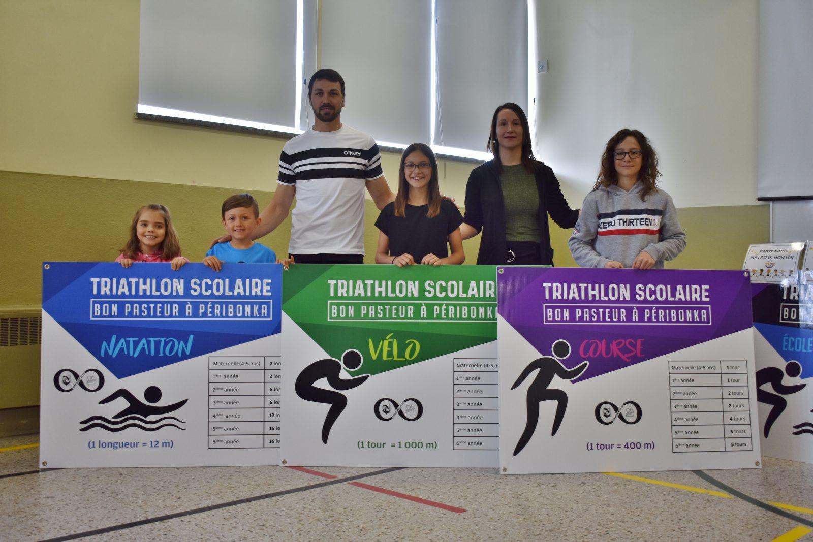 Triathlon scolaire école Bon-Pasteur : un multiple champion du monde comme parrain