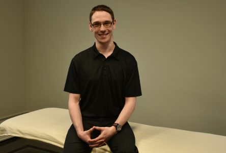 Ostéopathe de formation : Alexandre Tremblay a tout lâché pour Dolbeau-Mistassini