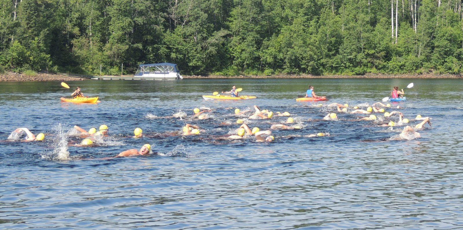 Marathon de nage du lac à Jim : une centaine de nageurs seront au rendez-vous