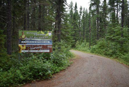 Véloroute des Bleuets : la piste Au fil des rivières fermée temporairement