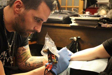 Stéphane Chiquette: entrepreneur tatoué sur le cœur!