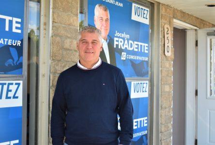 Élections fédérales : Les priorités de Jocelyn Fradette
