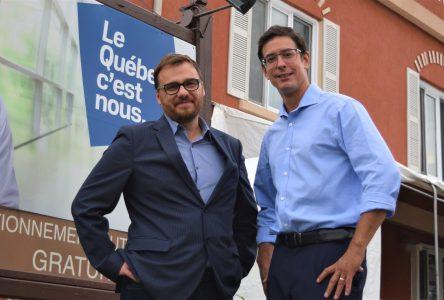 Alexis Brunelle-Duceppe ouvre son bureau électoral