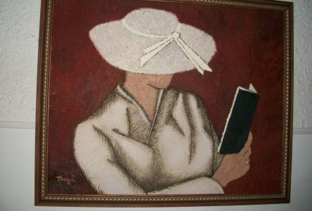 Des oeuvres de Thérèse Gagné à la Bibliothèque de Dolbeau-Mistassini