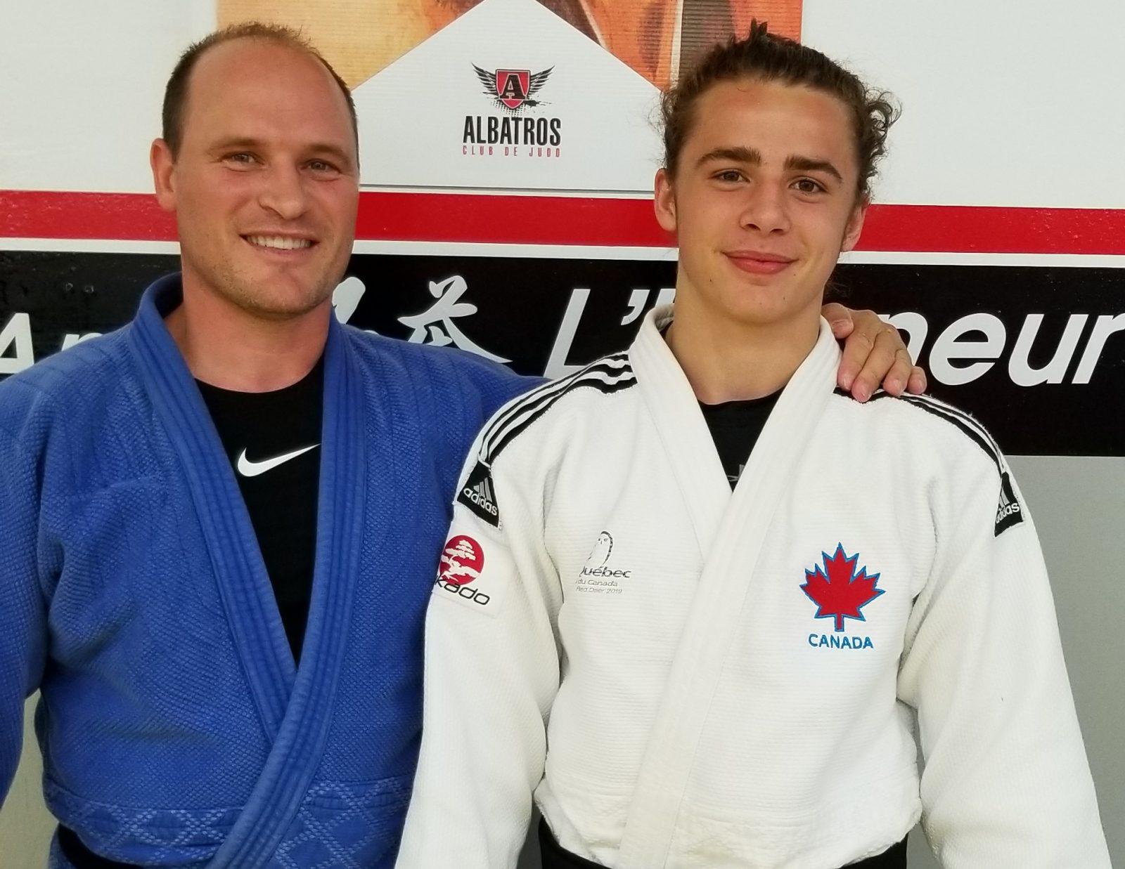 Le judoka Simon Paquet de retour à l'entraînement