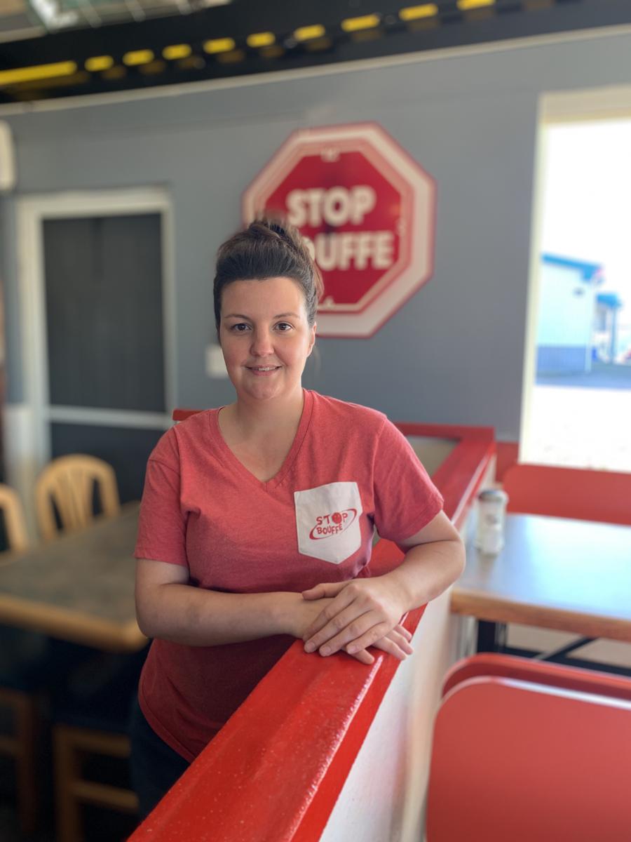 Propriétaire du restaurant Stop Bouffe, Caroline Doucet  a réalisé son rêve  entrepreneurial
