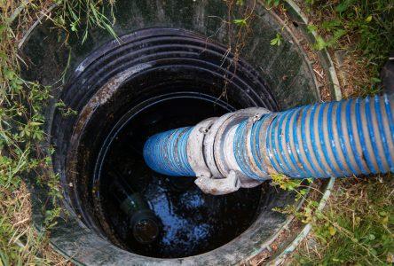 Les signes d'une fosse septique bouchée