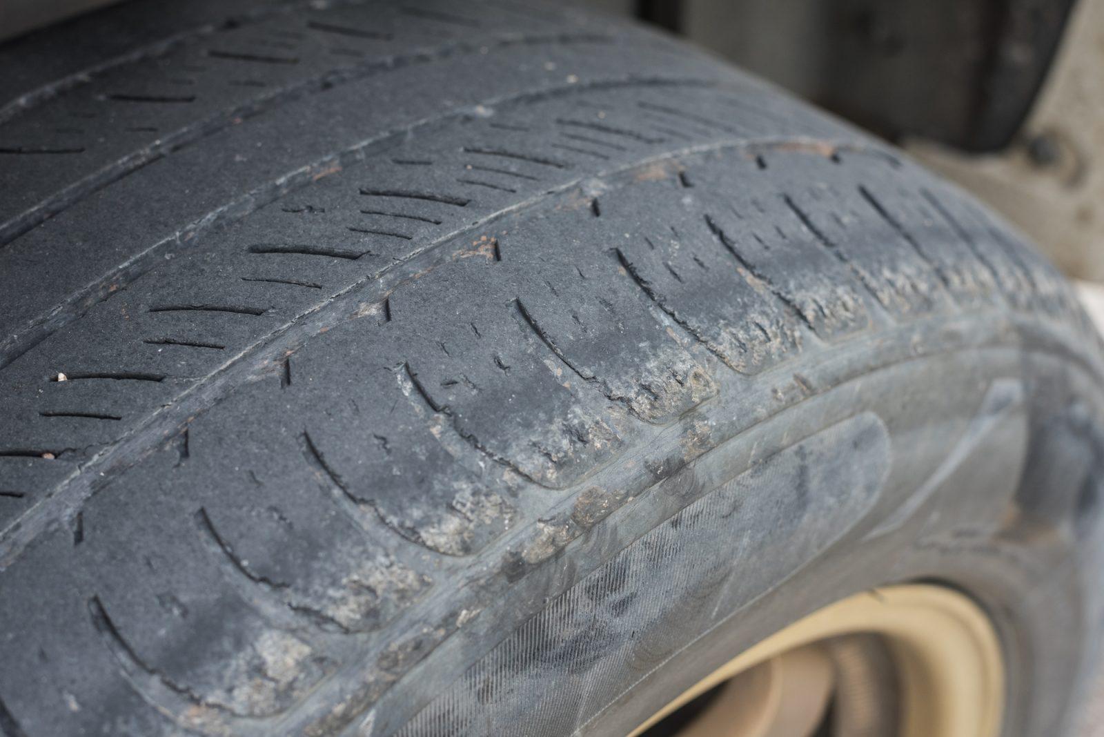 Les différents problèmes de pneus