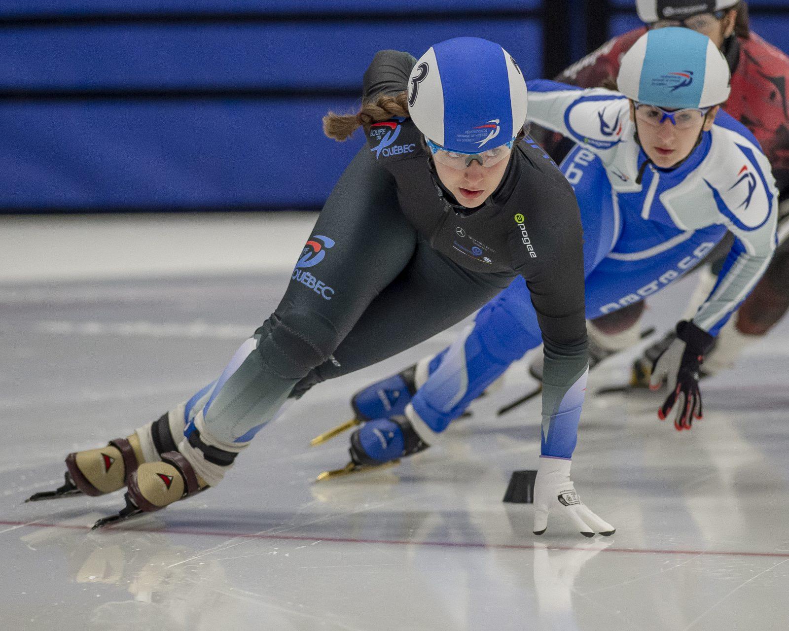 Karina Montminy obtient son laissez-passer pour Calgary