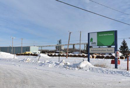Les approvisionnements de la scierie de Saint-Thomas transférés à Girardville