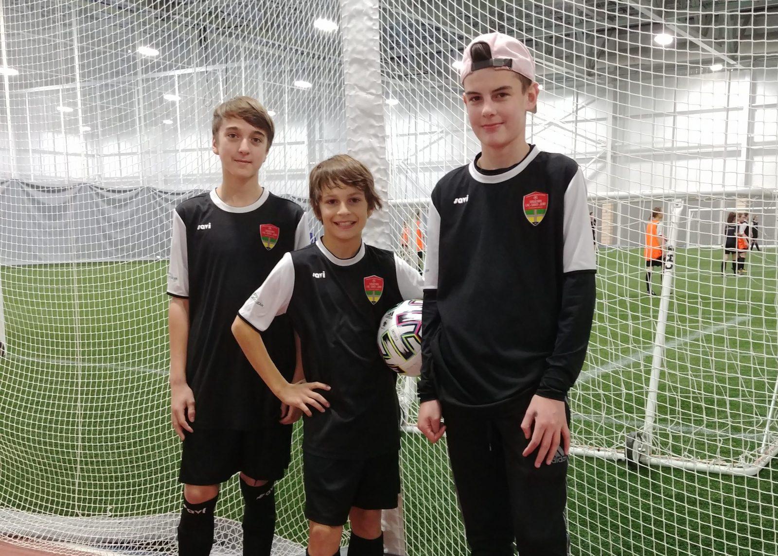 Trois joueurs dans le Programme de sélections régionales U13