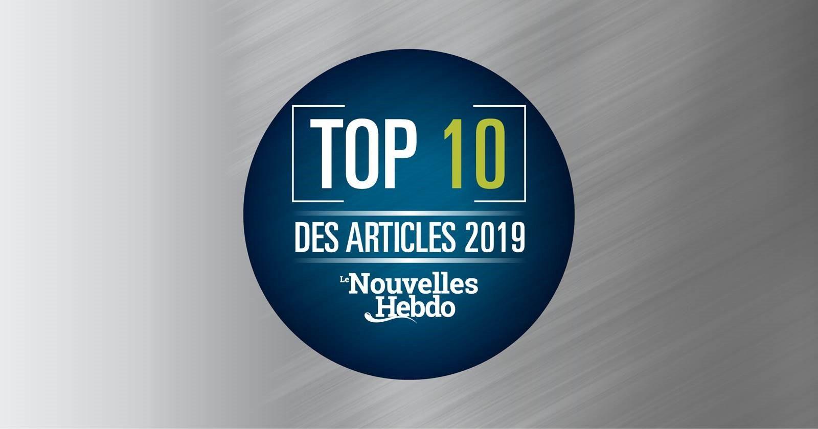 Top 10 des articles les plus lus de 2019