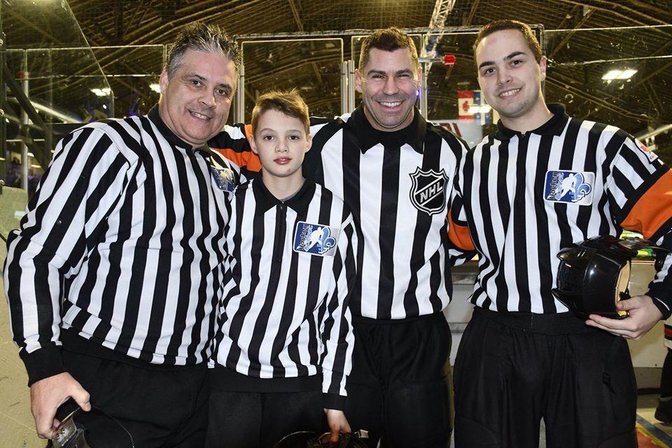 Justin St-Pierre livre un message aux jeunes arbitres : « Persévérez! C'est le plus beau métier au monde »
