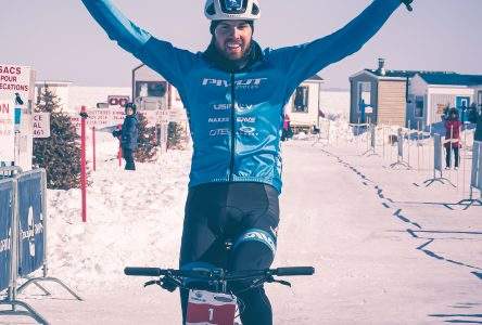 Léandre Bouchard demeure le roi de la Traversée du lac à vélo