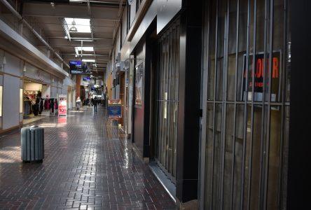 Mail des Promenades du boulevard : de plus en plus de locaux vides
