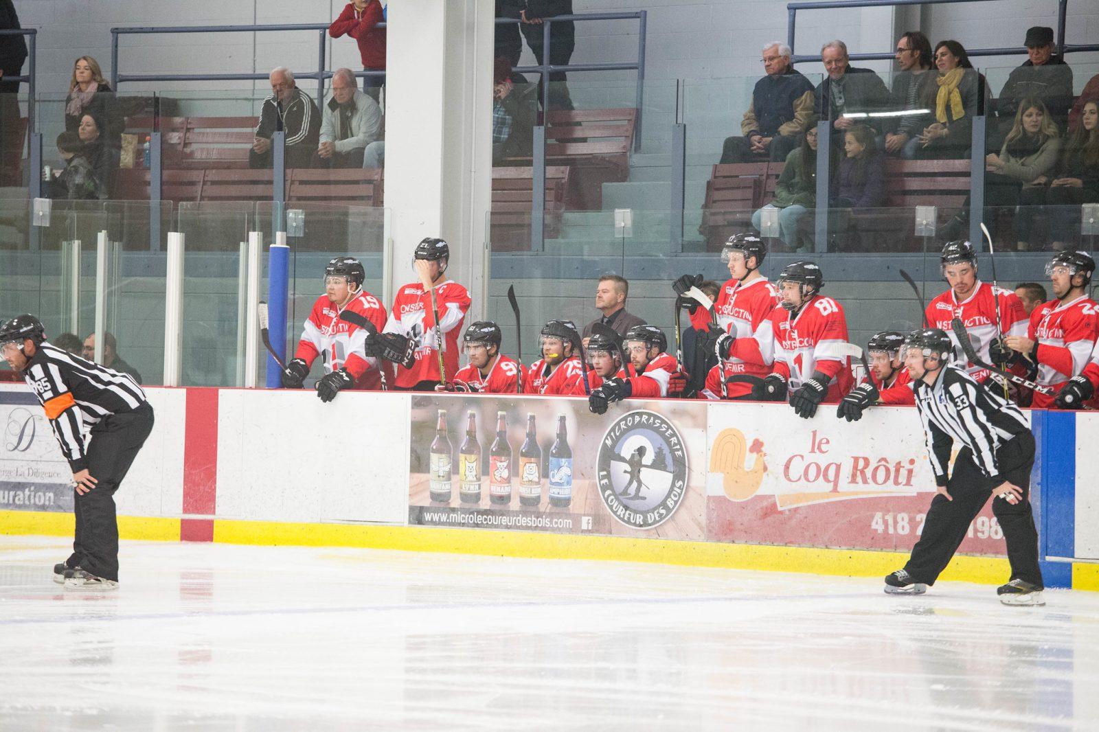 Dolbeau-Mistassini réduit l'écart au hockey senior