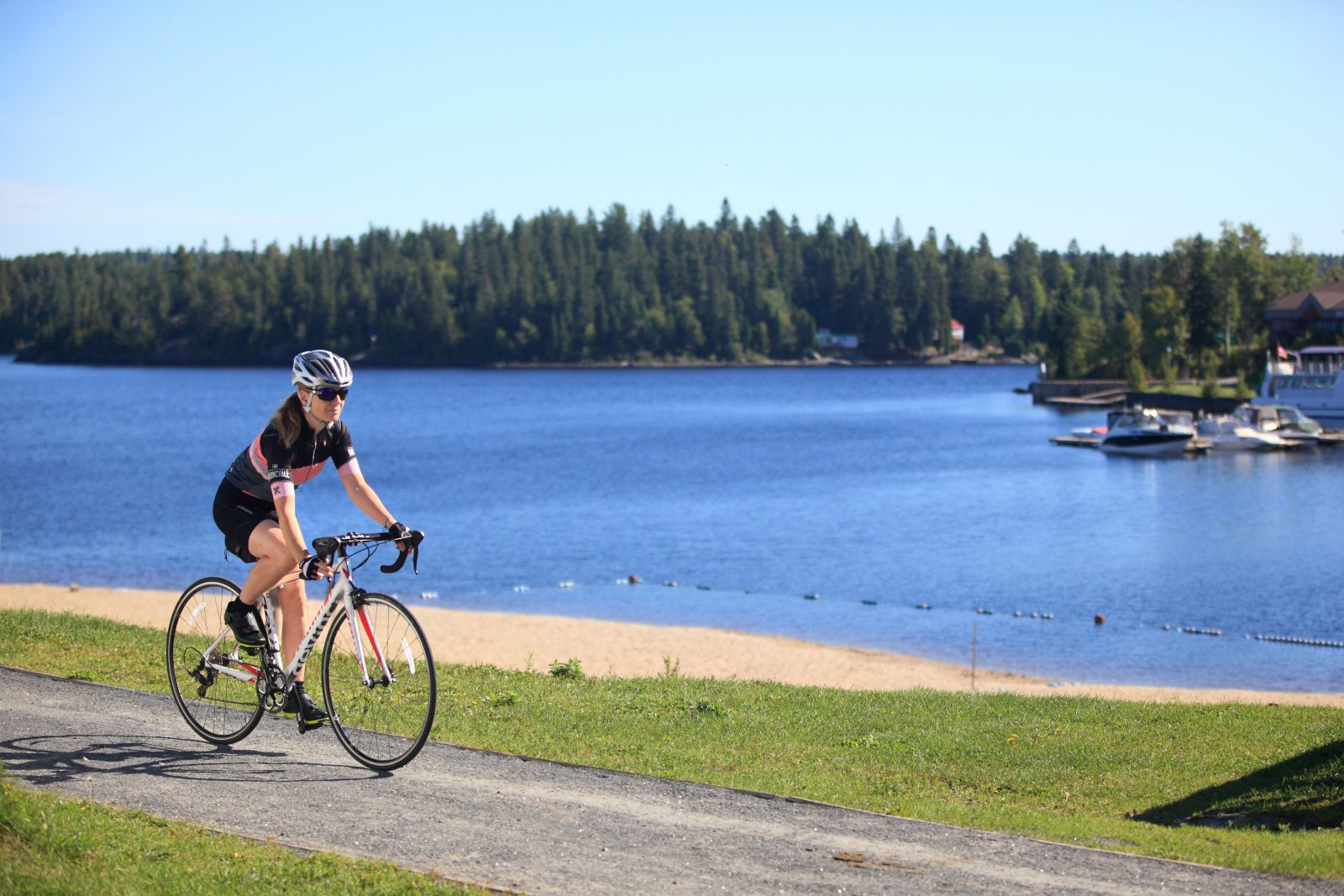 La Véloroute des bleuets ne sera pas accessible avant le mois de juin dans la MRC de Lac-Saint-Jean-Est