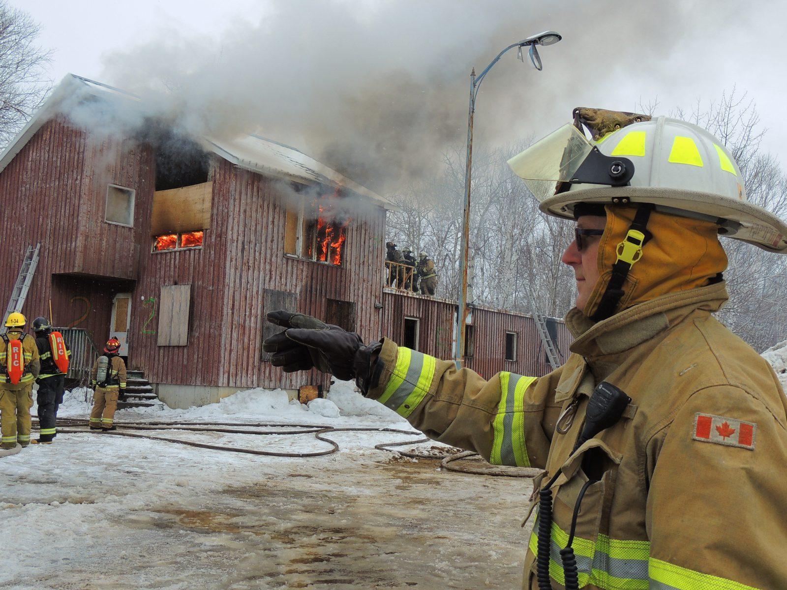 Le recrutement de pompiers toujours difficile