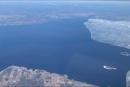 Le lac enfin libéré de ses glaces