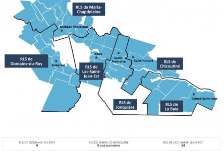 4 cas actifs dans la région